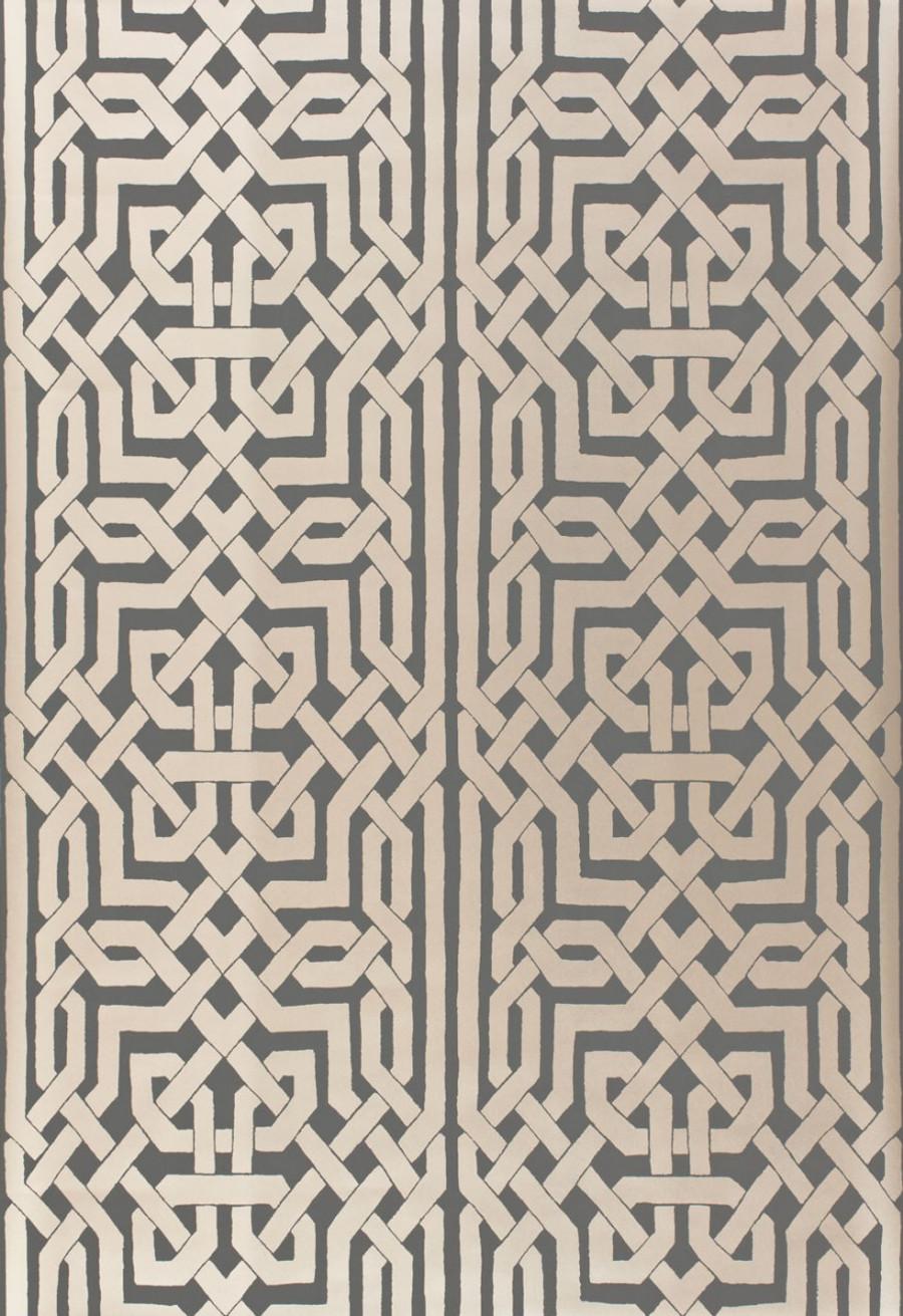 Schumacher Malaga Wallpaper Graphite 5005933