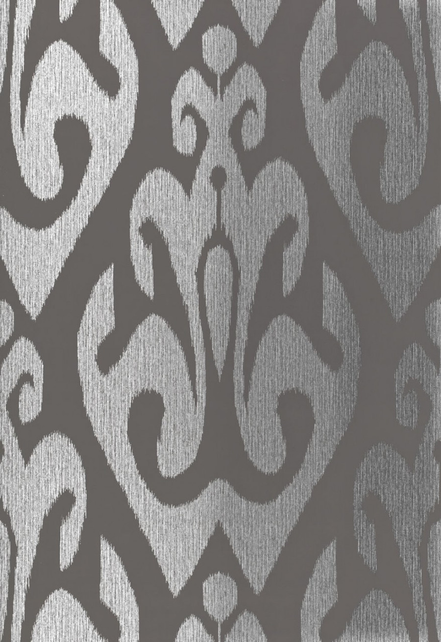 Schumacher Tokat Wallpaper Graphite