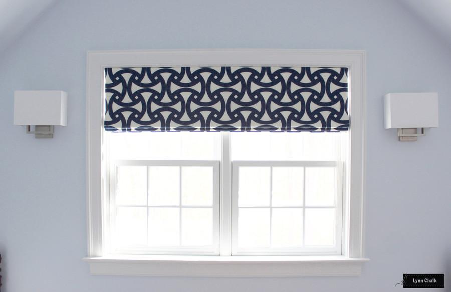 Trina Turk for Schumacher Santorini Print Fog Indoor Outdoor Fabric
