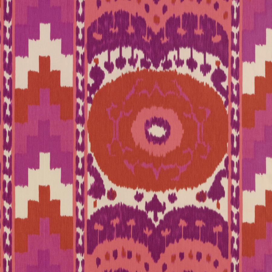 Samarkand Ikat II Ruby