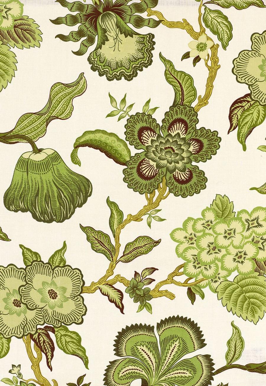 Celerie Kemble Hot House Flowers in Verdance