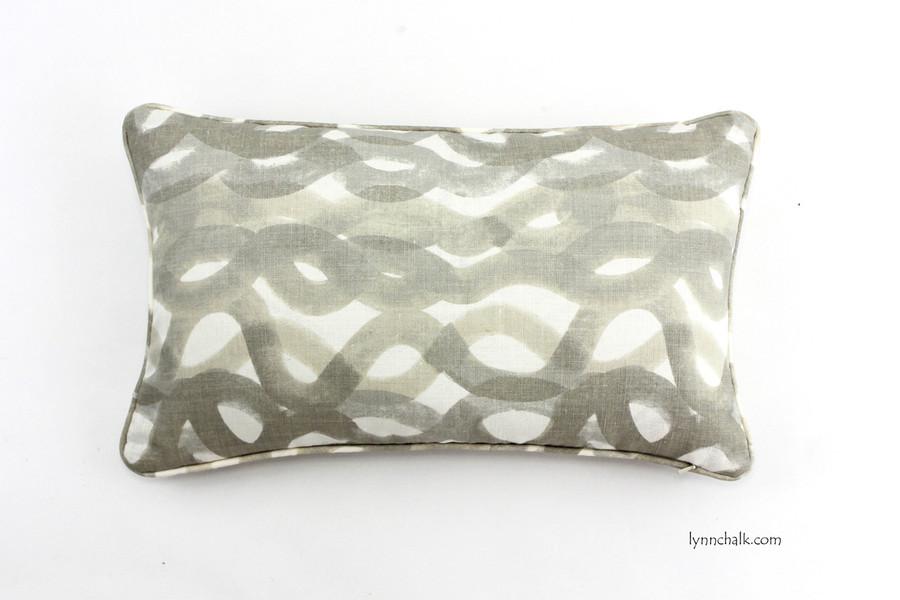 Custom Pillows by Lynn Chalk in Fathom (shown in Smoke 12 X 20)