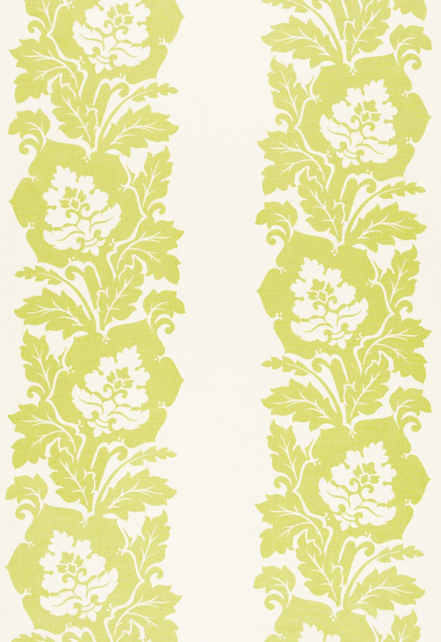 Schumacher Margate Damask Apple  173851