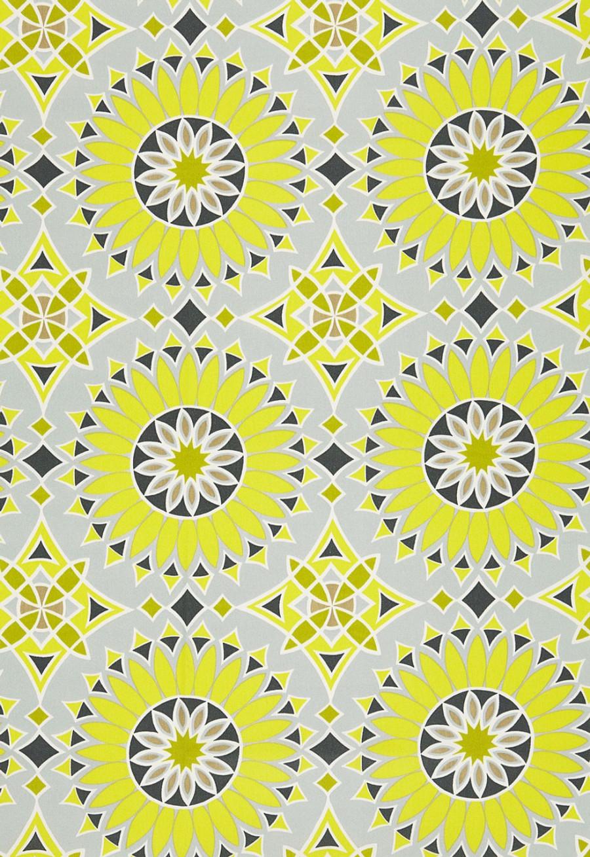 Trina Turk Soleil LA Print Driftwood Acrylic Fabric