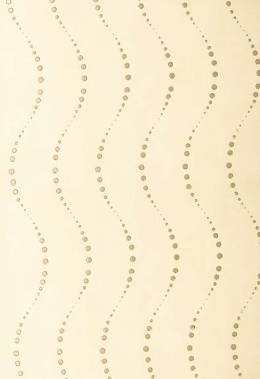 Schumacher Bubbles Wallcovering in Cream 5003420 (Sold by the Yard-30 Yard Minimum Order)