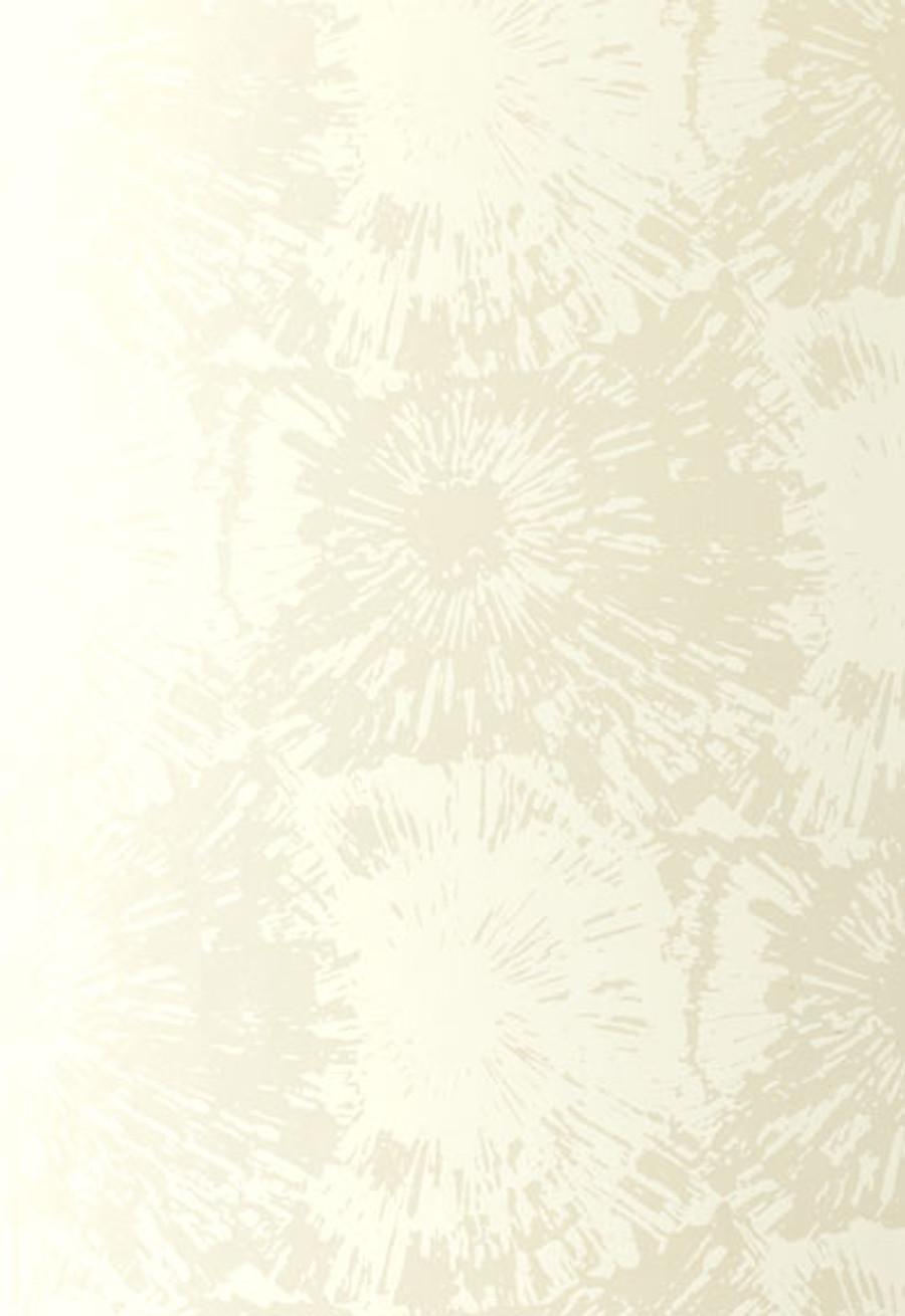 Schumacher Fireworks Wallpaper in White Opal 5003311