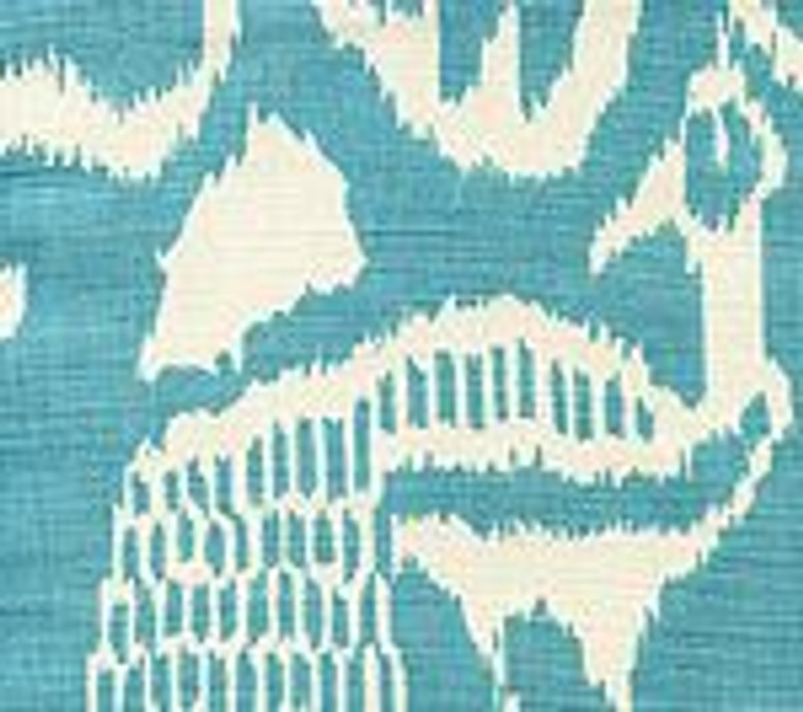 Quadrille China Seas Bali II French Blue on Tint - 5 Yard Minimum Order