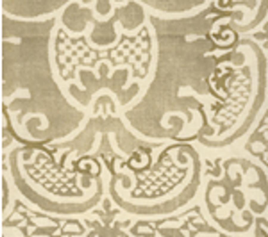 Quadrille Veneto in Gold Metallic on Tint
