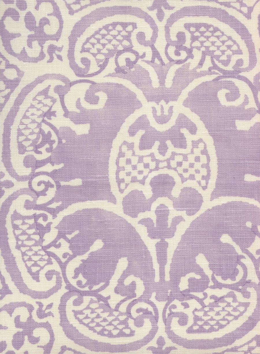Quadrille Veneto Neutral Soft Lavender on Tint