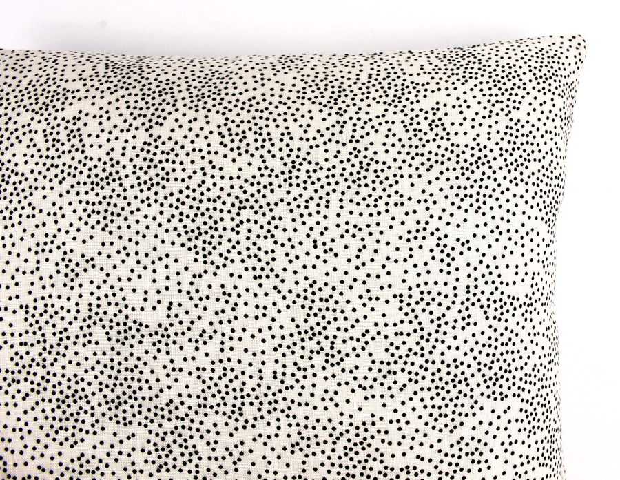 Kelly Wearstler for Lee Jofa Confetti in Cream/Ebony Pillow (Both Sides) 2 Pillow Minimum Order