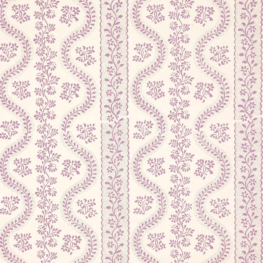 Sister Parish Dolly Parma/Purple - 6 Yard Minimum
