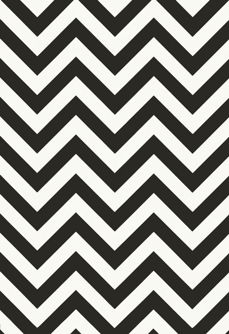 Schumacher Martyn Lawrence Bullard Wallpaper Fez in Noir 5006734