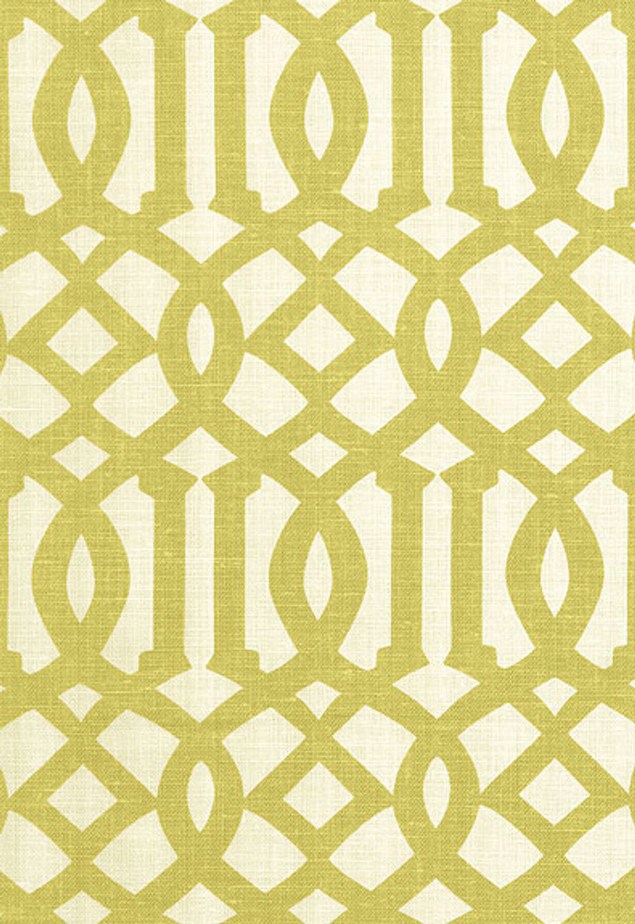 2643762 Schumacher Fabric Imperial Trellis Citrine