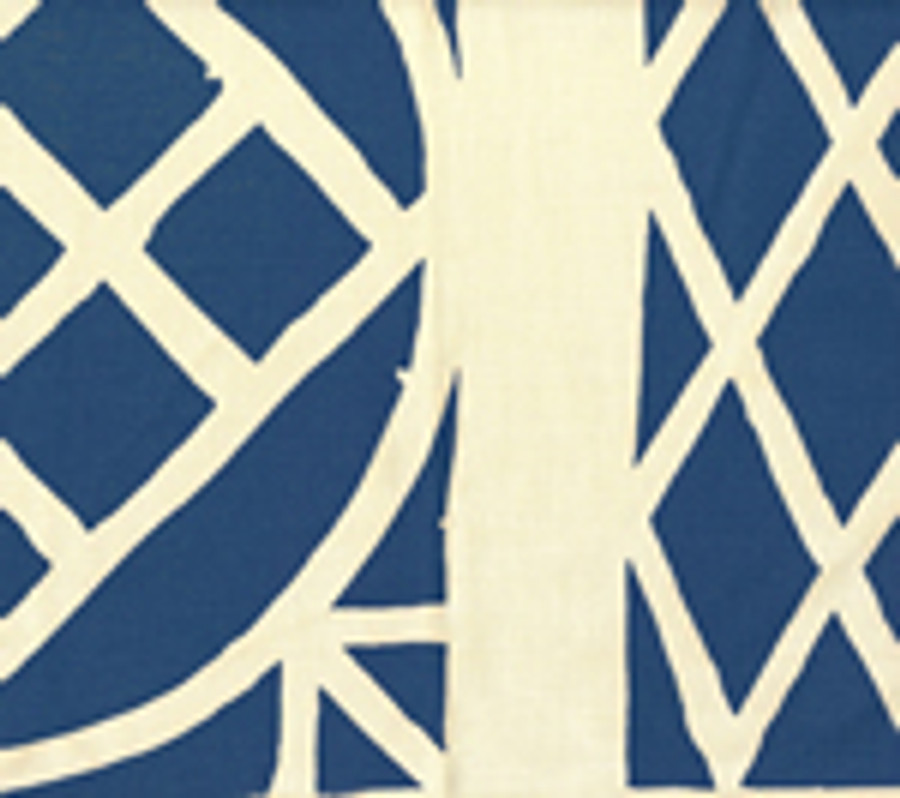 Trellis Background Wallpaper Navy On Tint