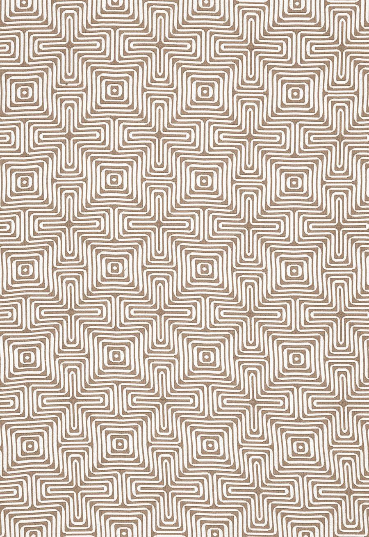 Trina Turk Amazing Maze Indoor/Outdoor in Sand for Schumacher 65323