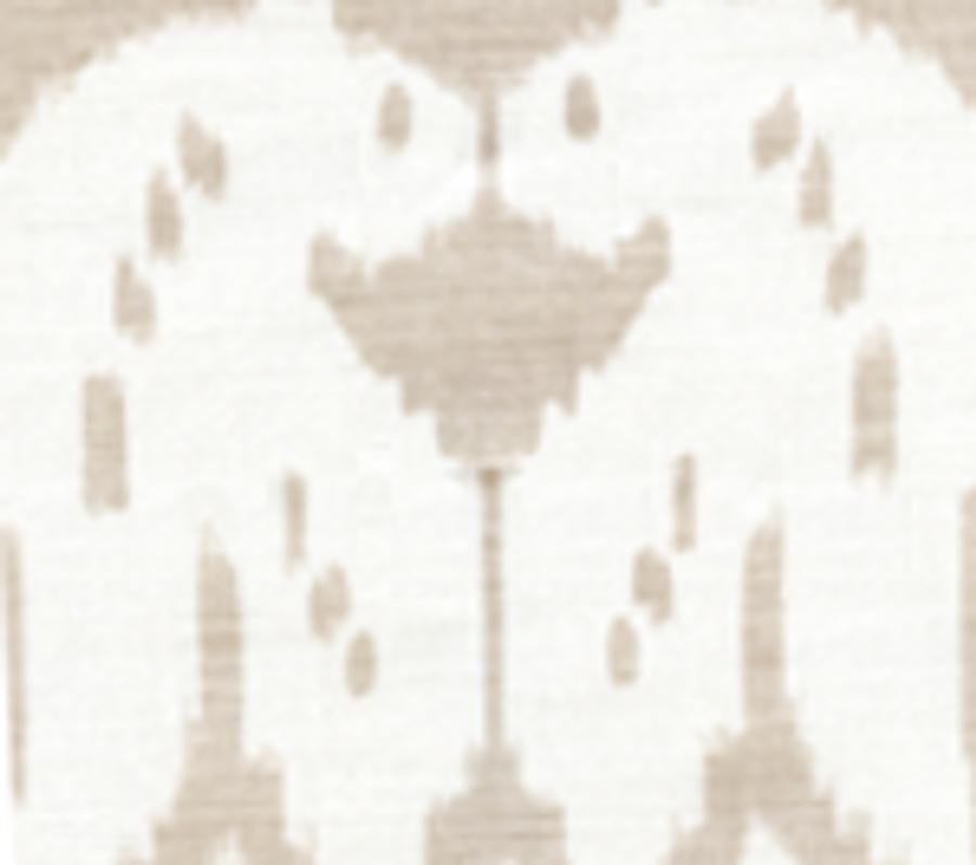 Quadrille China Seas Island Ikat Pumice on White