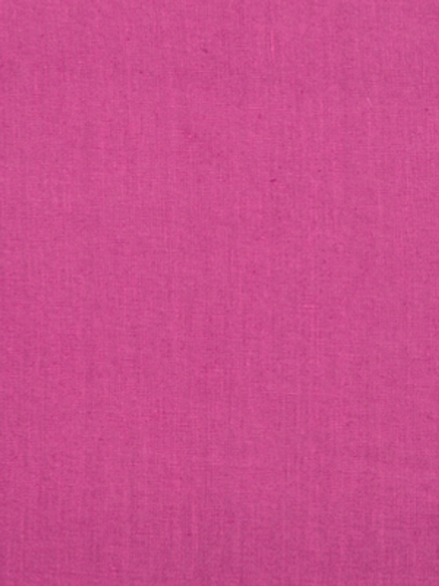 Milan Solid Linen Raspberry