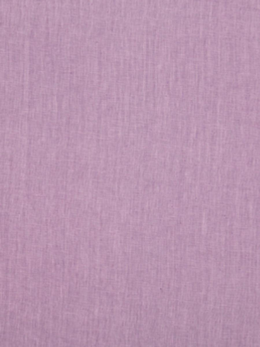 Milan Solid Linen Violet Sky