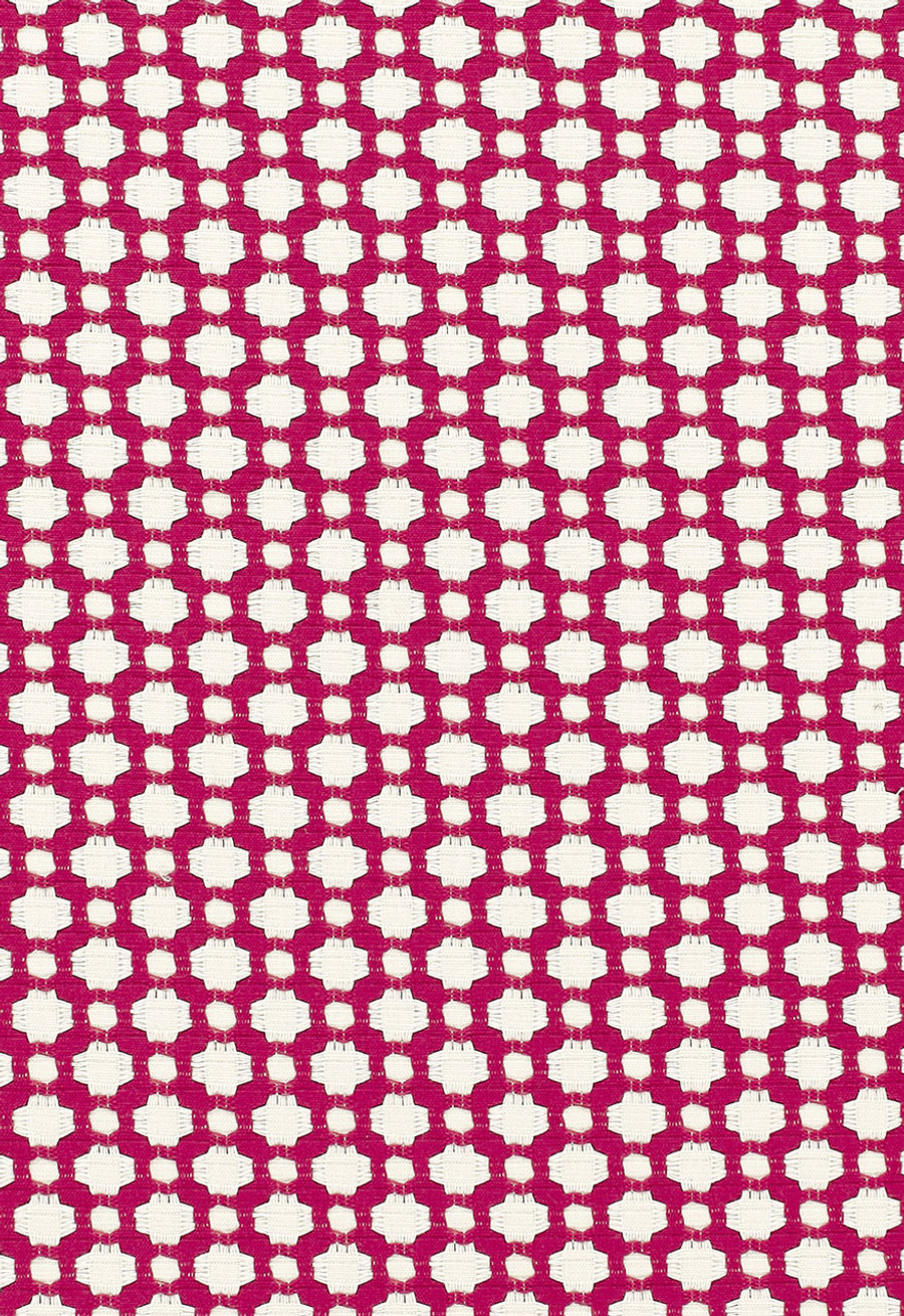 Schumacher Celerie Kemble Betwixt Magenta/Natural 65685