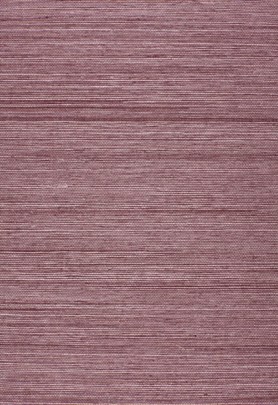 Schumacher Onna Sisal Wallpaper Purple 5002193