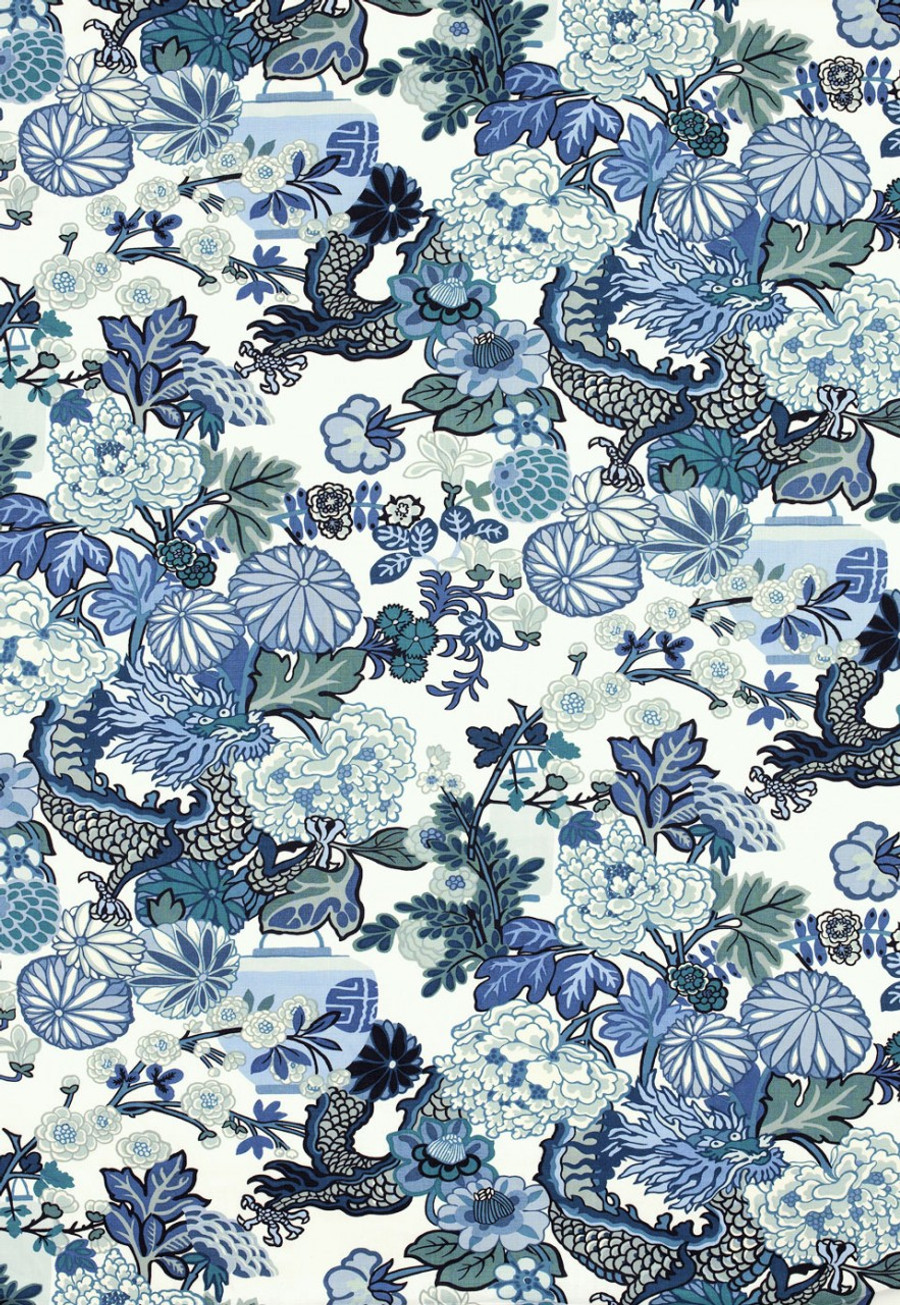 Chiang Mai Dragon China Blue 173272