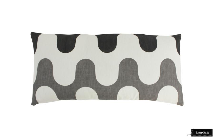 Majorelle Pillows in Baltic (12 X 24)