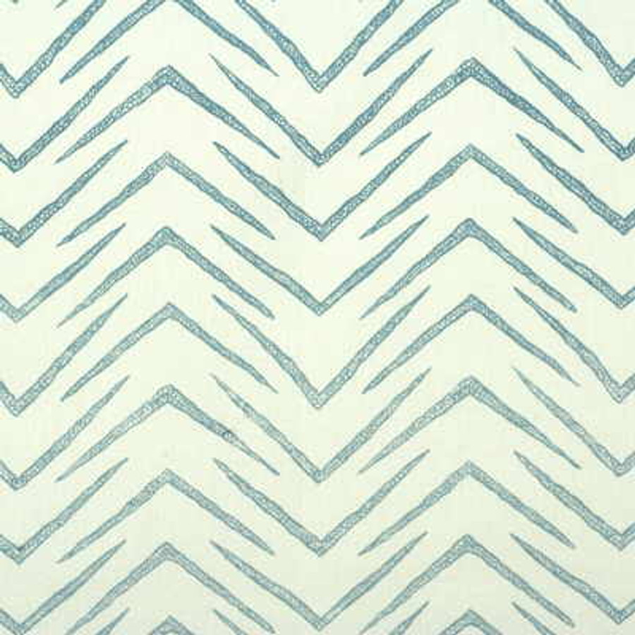 Groundworks Herringbone GWF-2620 115 White Sky LIght Blue