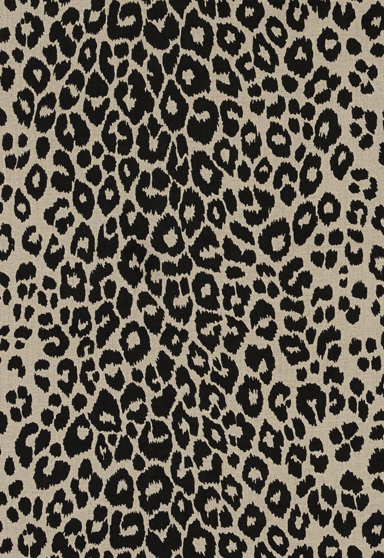 Schumacher Iconic Leopard Ebony/Natural