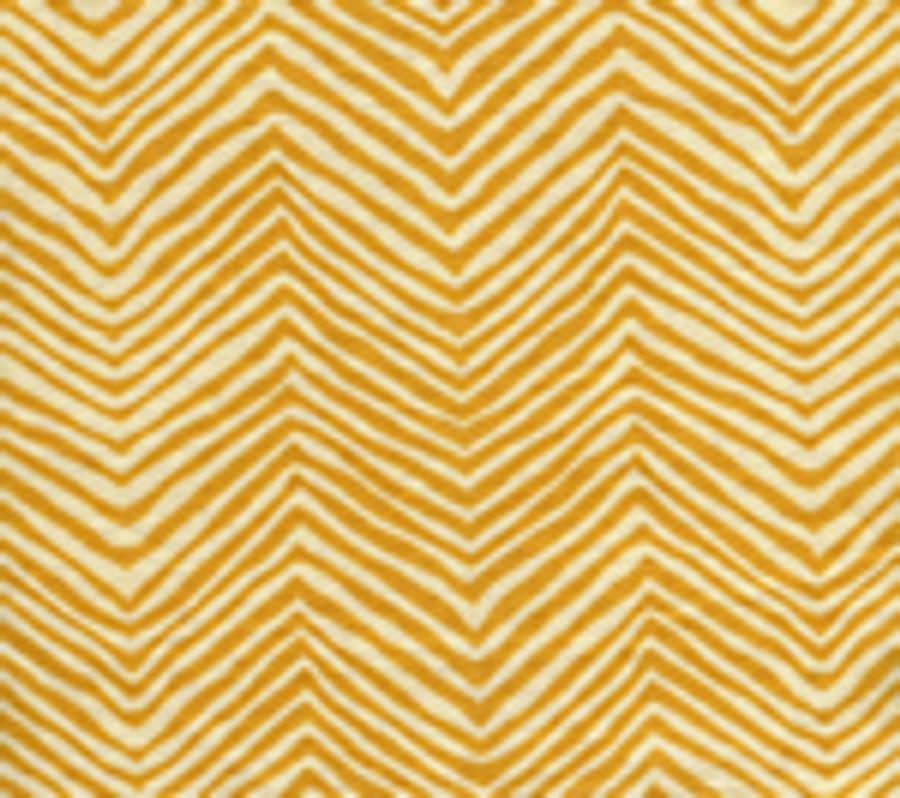 Quadrille Alan Campbell Petite Zig Zag Inca Gold On Tint
