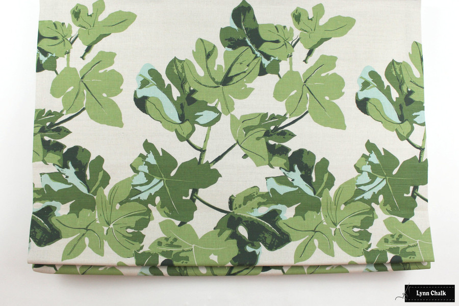 Peter Dunham Fig Leaf Roman Shades (comes in Original on White and Original on Natural)