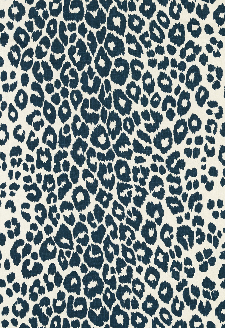Schumacher Iconic Leopard Ink