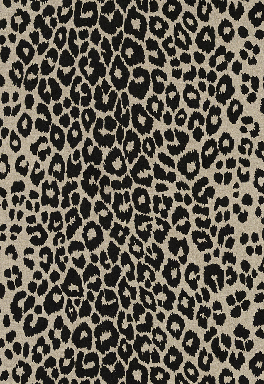 Schumacher Iconic Leopard Ebony/Natural