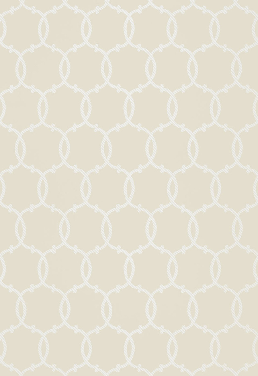 Tracery Wallpaper in Bisque