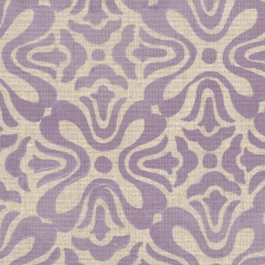 Lilac on Natural Linen