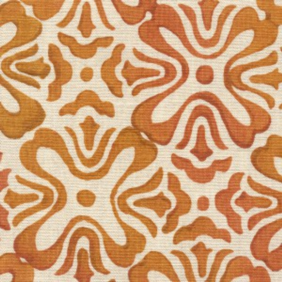 Marigold on Natural Linen
