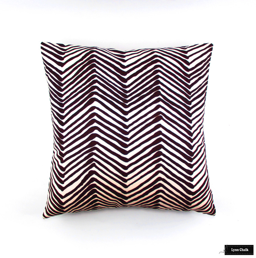 Quadrille Alan Campbell Zig Zag Lavender on Tint