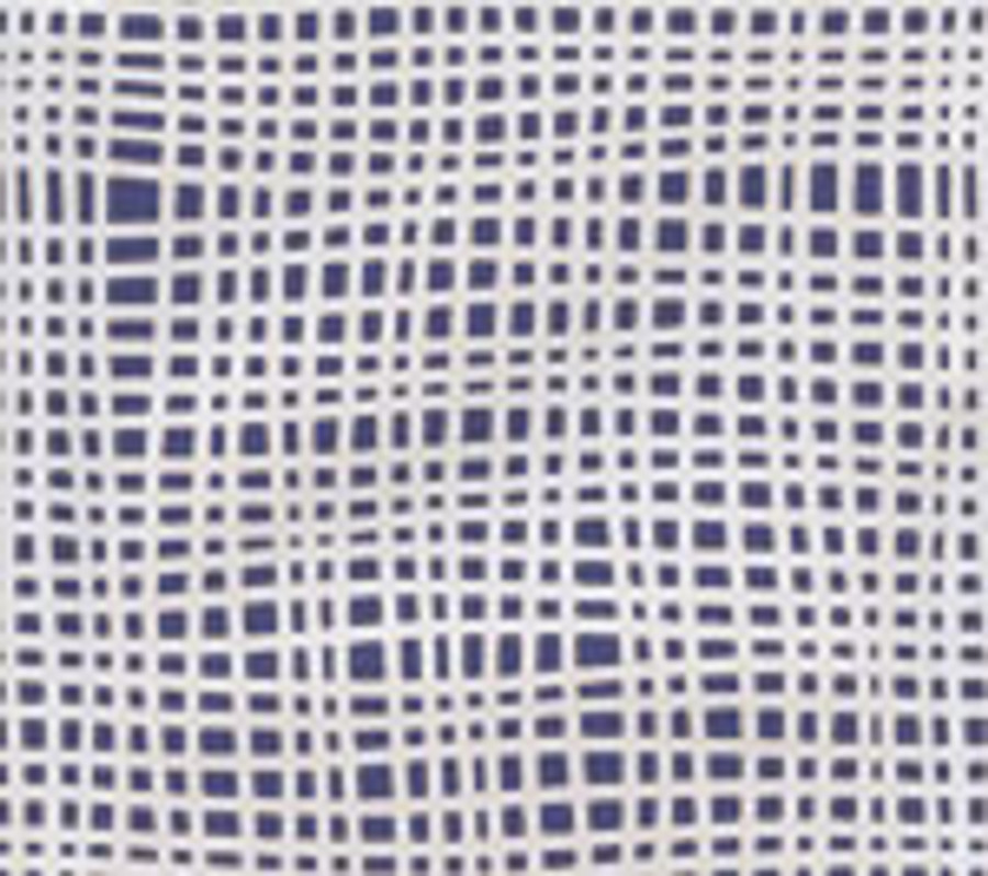 Criss Cross Wallpaper Navy on Off White AP403-12
