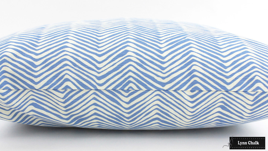 Quadrille Alan Campbell Petite Zig Zag Custom Pillows