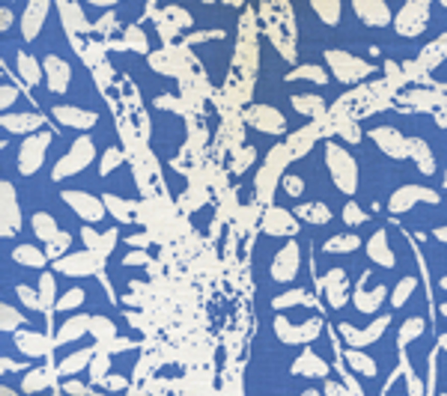 Quadrille Arbre De Matisse  Reverse China Blue on Tint 2035-40
