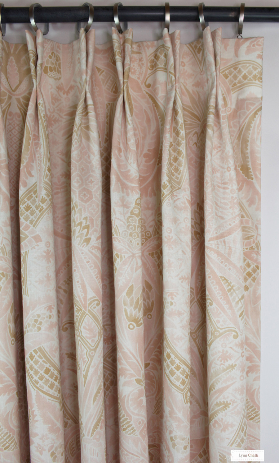 Schumacher Cap Ferrat Pacific Roman Shade (also comes in Blush and Sunset)