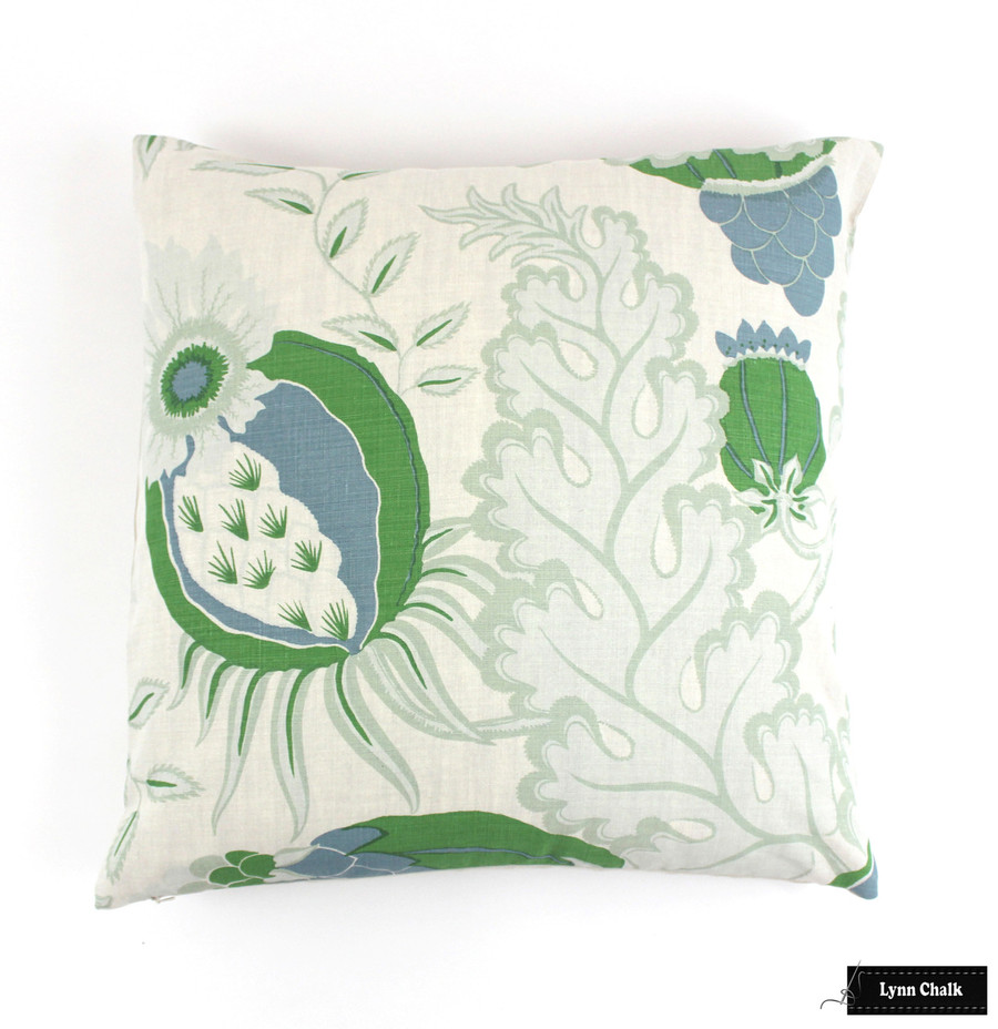 Christopher Farr Carnival Knife Edge Pillows (shown in Green-comes in several colors) 2 Pillow Minimum Order