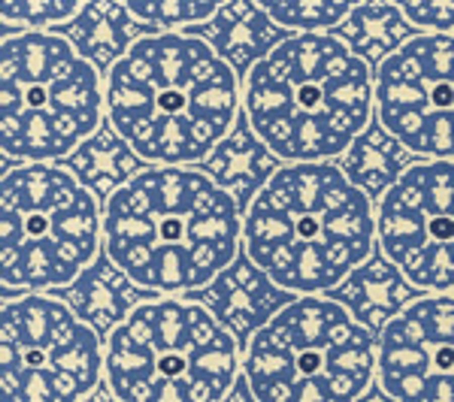 Blue Flores Blue on Tint 149-20T