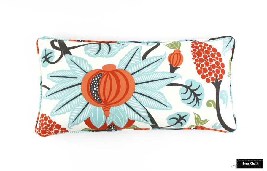Osborne & Little Maharani Custom Pillows (shown in F6110/04) 2 Pillow Minimum Order