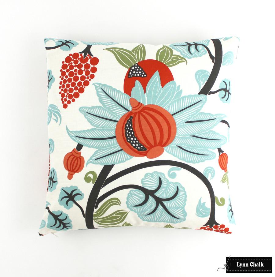 Custom Pillow 20 X 20 by Lynn Chalk in Osborne & Little Maharani  F6110/04