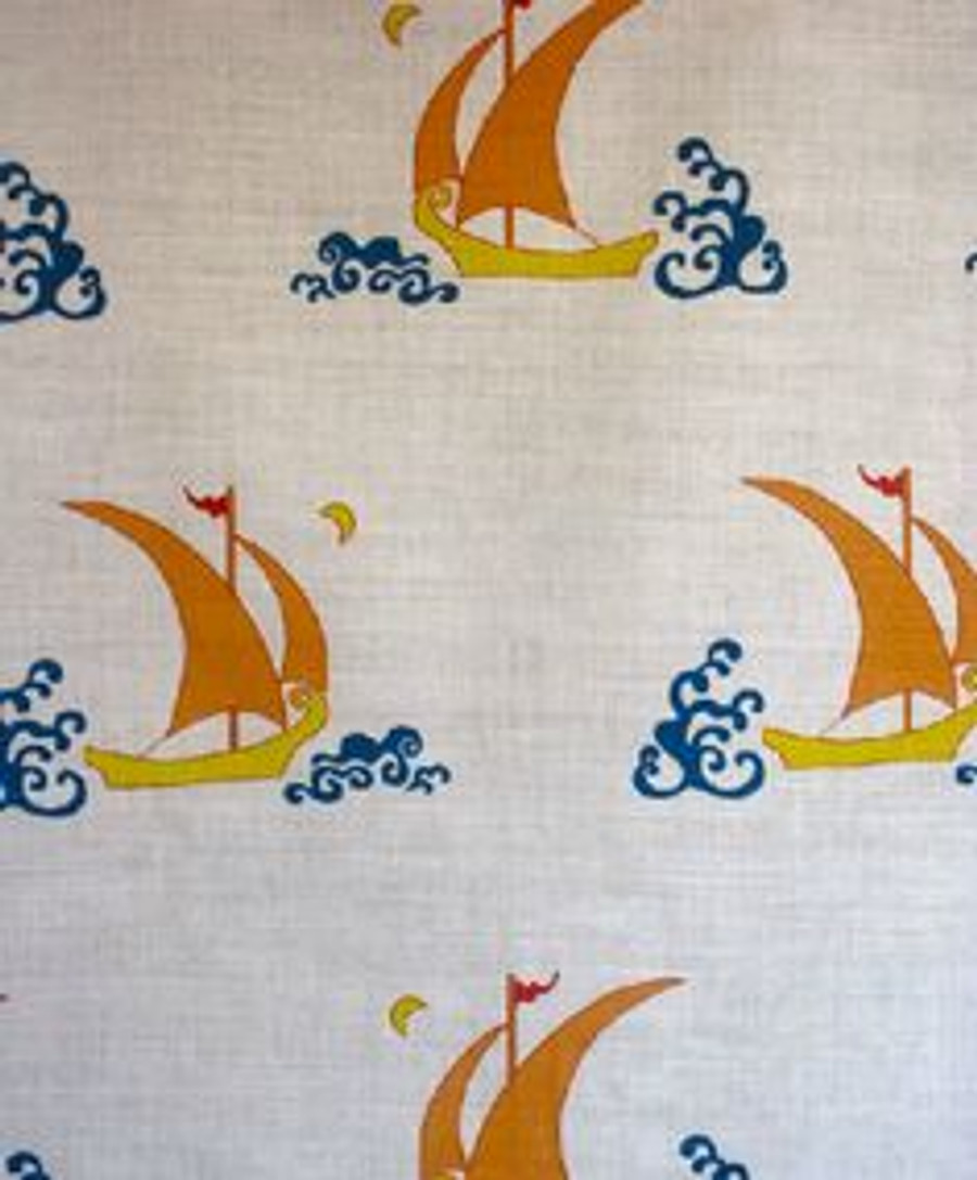 Katie Ridder Beetlecat Fabric in Apricot