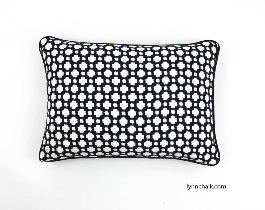 Celerie Kemble Betwixt Pillows for Schumacher (shown in Indigo-Comes in 16 Colors)