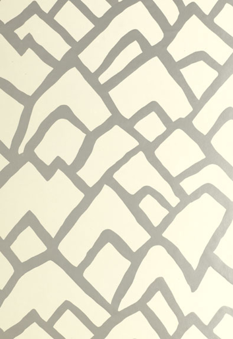 Schumacher Zimba Wallpaper Ebony