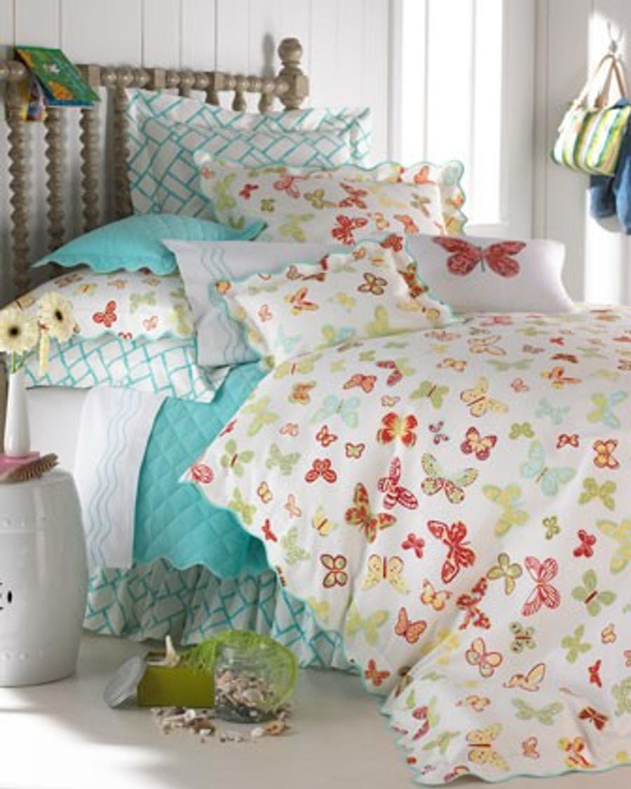 Lulu DK Fabric Bedding in Butterfly Multi