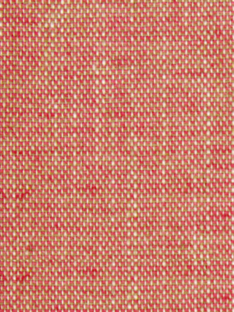Linen Canvas Lacquer Red