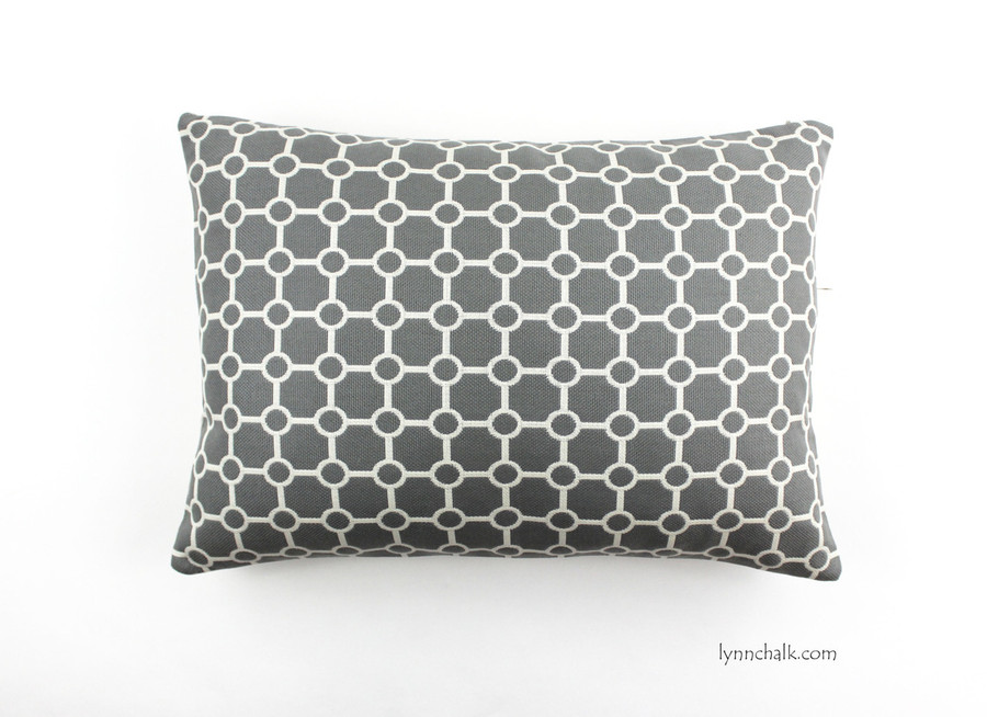 Pillow Clarence House OD Biarritz in Grey (14 X 20)